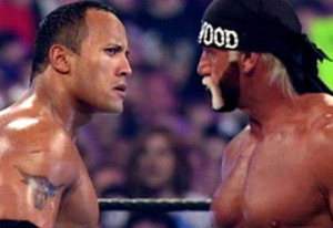 The Rock and Hulk Hogan