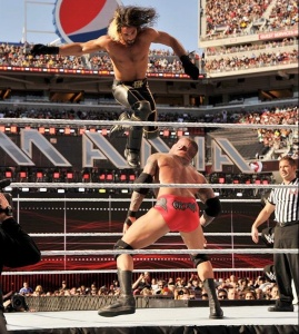Orton prepares for an astonishing RKO