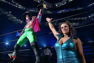Chris Jericho and Stephanie McMahon