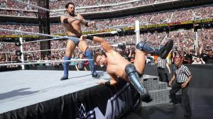 Sandow sends Miz over the top