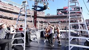 Ambrose take a dive