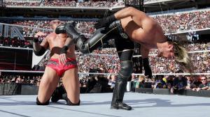Rollins hits Avada Kedavra on Orton