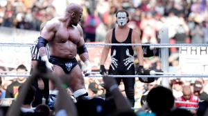 Triple H and Sting prepare for battle