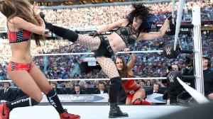 Superkick from Paige