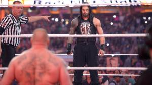 Brock Lesnar and Roman Reigns get ready for a war