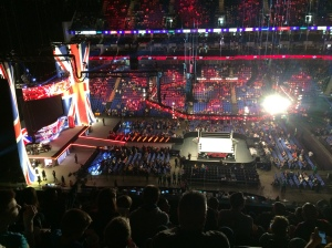 WWE Raw at the O2 - April 2015