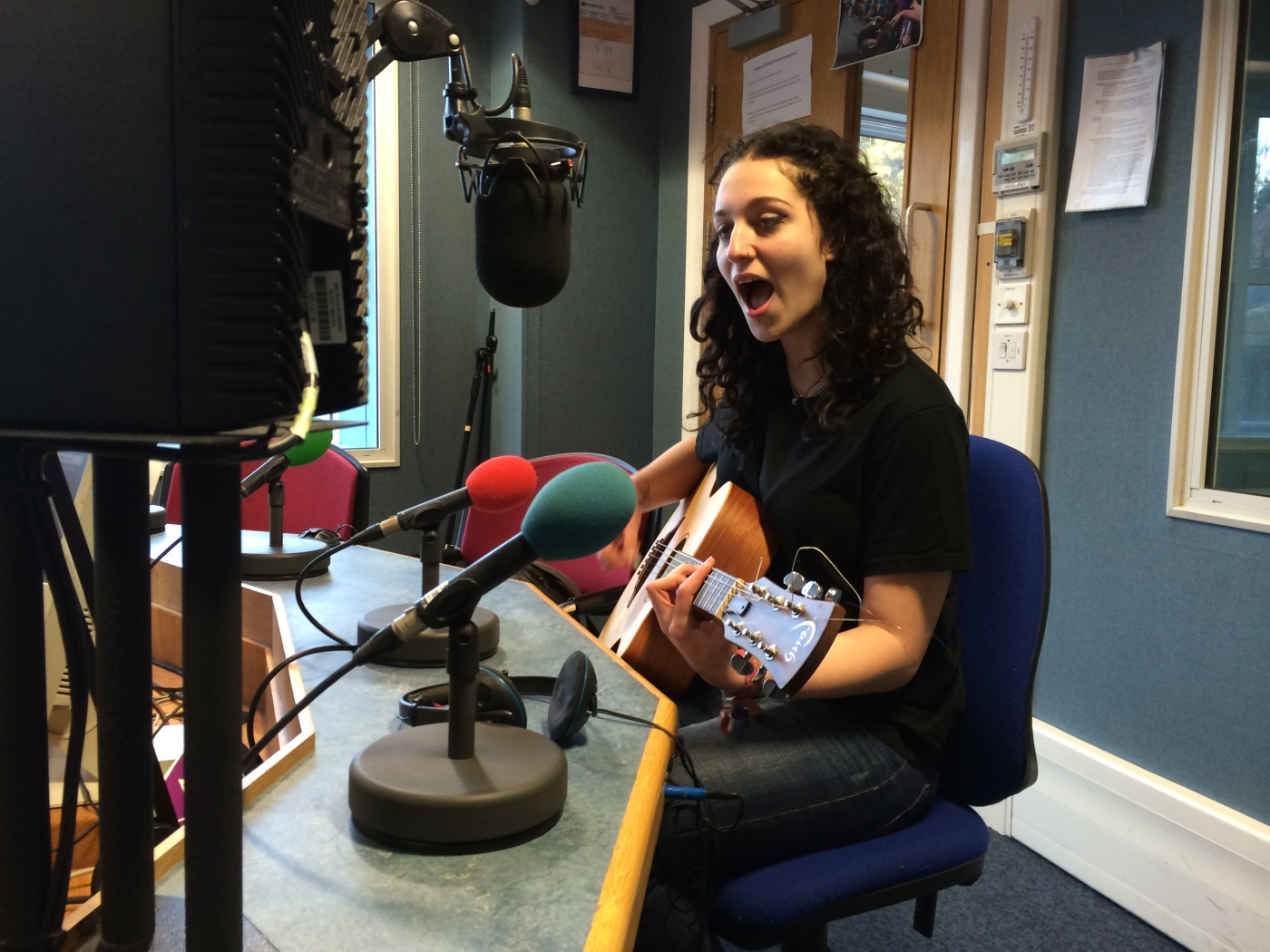Chloe Le Page on BBC Introducing Guernsey