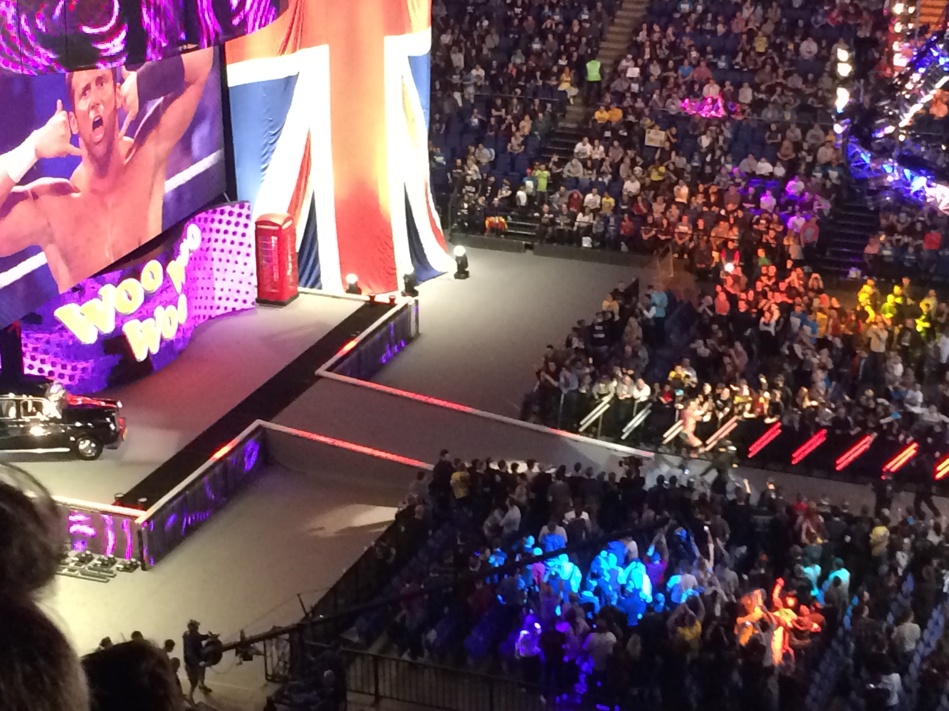 Wwe Raw O2 Arena London 13 04 15 Tommy Girard