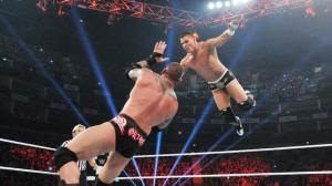 Orton catches Kidd for the RKO