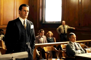 Joe Hamm and David Strathairn in Howl