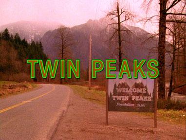 Twin Peaks opening titles