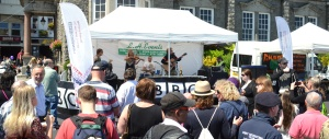 Buffalo Huddleston on the BBC Introducing Guernsey stage