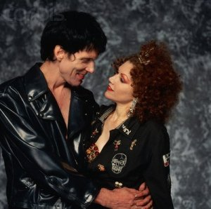 Lux Interior and Poison Ivy
