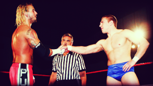 CM Punk and Daniel Bryan in Ring of Honor