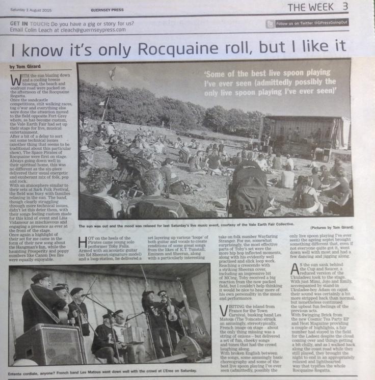 Rocquaine Regata review - 01:08:15