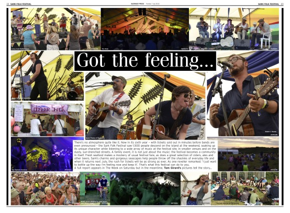 Sark Folk Festival photo spread - 07:07:15