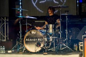 Atom Willard of Against Me