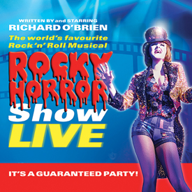 rocky horror live poster
