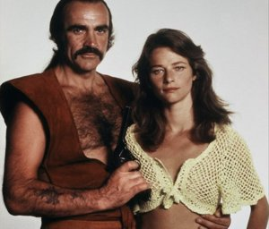 Sean Connery and Charlotte Rampling - Zardoz