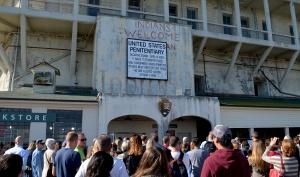 Alcatraz sign