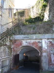Alcatraz tunnel