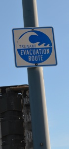 Tsunami Evacuation route