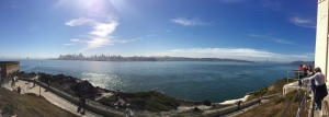 Southern panorama from Alcatraz
