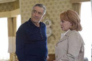 Robert De Niro and Jacki Weaver in Silver Linings Playbook