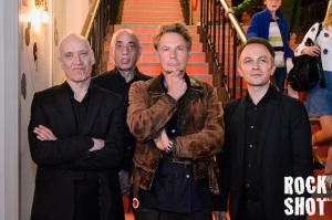 Wilko Johnson, Norman Watt-Roy, Julien Temple and Dylan Howe