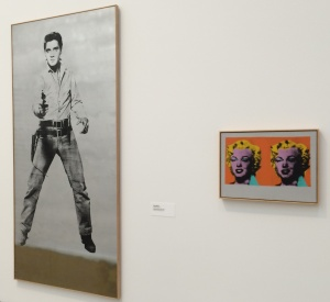 Warhol's Elvis and Marilyn