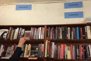 Book categories at City Lights