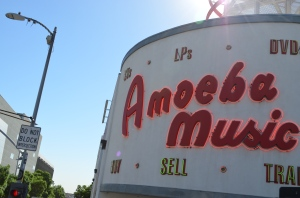 Amoeba Music on Sunset