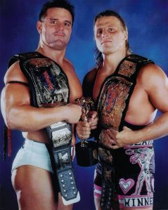 British Bulldog and Owen Hart