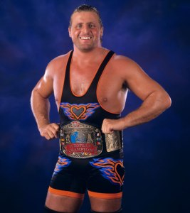 Owen Hart as European Champion