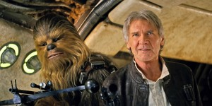Chewbacca and Han Solo - The Force Awakens