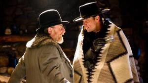 Tim Roth and Walton Goggins in The Hateful Eight