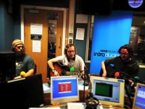 Wondergeist in session on BBC Introducing Guernsey