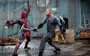 Deadpool and Ajax (Ed Skrein)