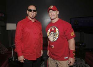 Sting and John Cena