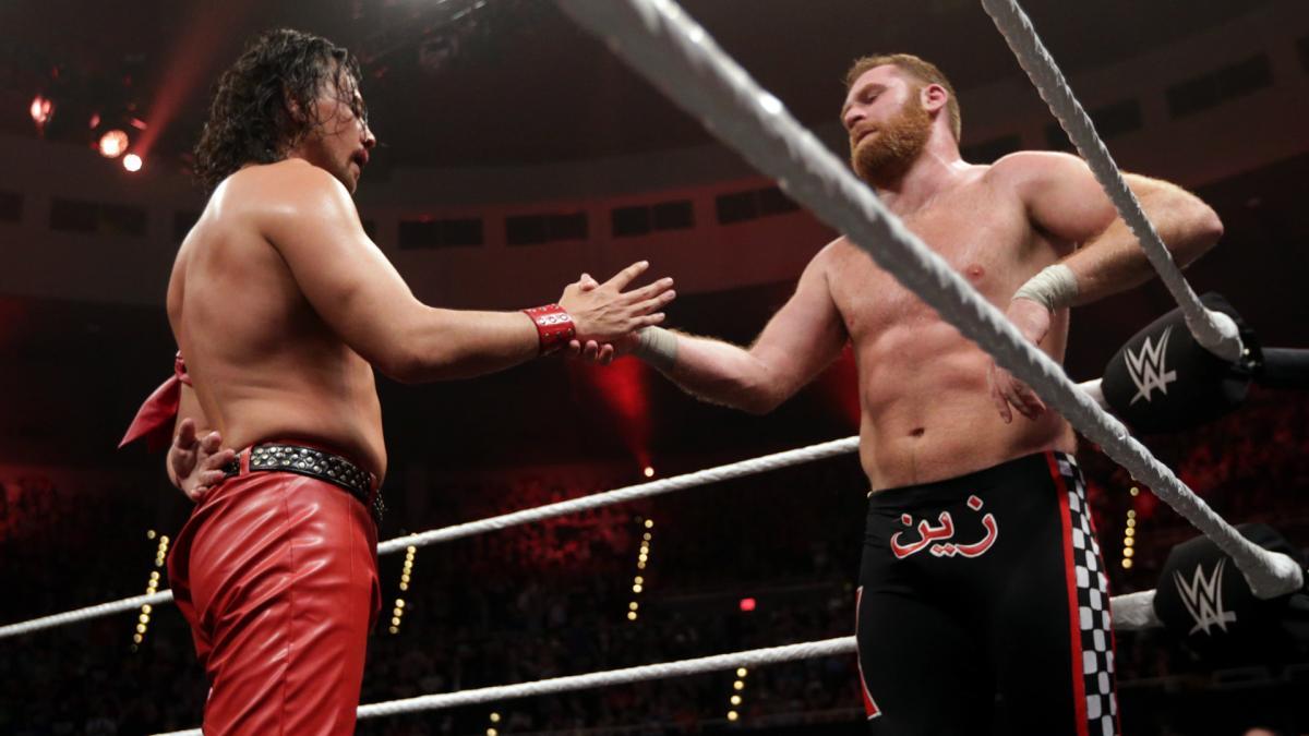Nakamura and Zayn