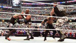 The Dudleys and The Usos