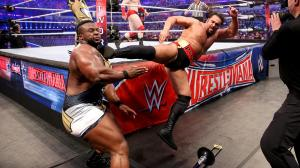 Rusev superkicks Big E