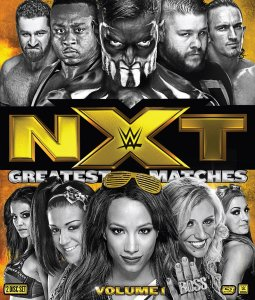 NXT Greatest Matches blu-ray
