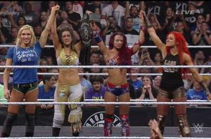 The Four Horsewomen at Takeover: Brooklyn