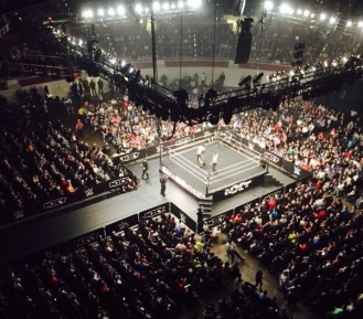 NXT TakeOver Dallas arena