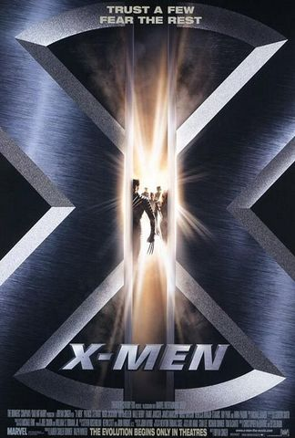 x-men movie poster