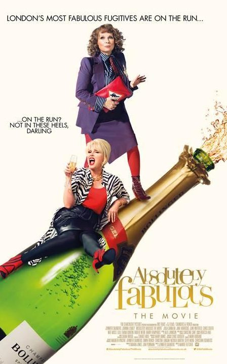 Absolutely Fabulous The Movie poster