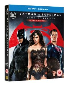 Batman V Superman Dawn of Justice cover