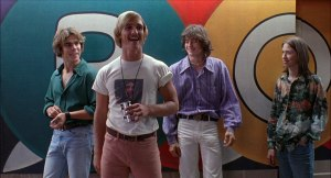 Dazed and Confused - Sasha Jenson, McConaughey, London and Wiggins