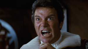 William Shatner as Admiral James T. Kirk